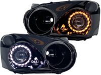 2004-2005 Blobeye WRX-STI Custom Black HID Projector Retrofit Headlights