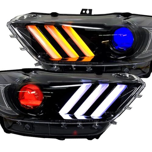 2015-2017 FORD MUSTANG HEADLIGHTS