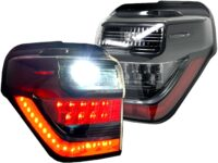 2010-2020 Toyota 4Runner OLED Black LED Tail Lights