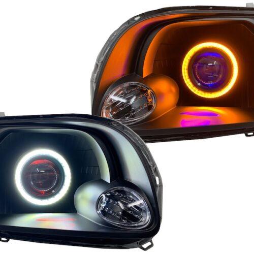 2000-2006 Toyota Tundra Custom Black Retrofit LED Projector Headlights