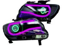 2015+ Chevrolet Colorado RGBW Led Hid Retrofit Kit Black Headlights