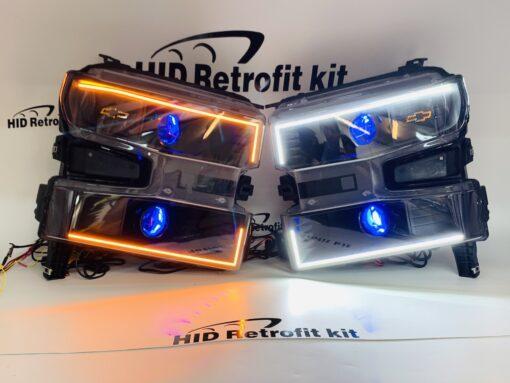 2019+ Chevrolet Silverado 1500 Cateye Hid Retrofit Kit Headlights