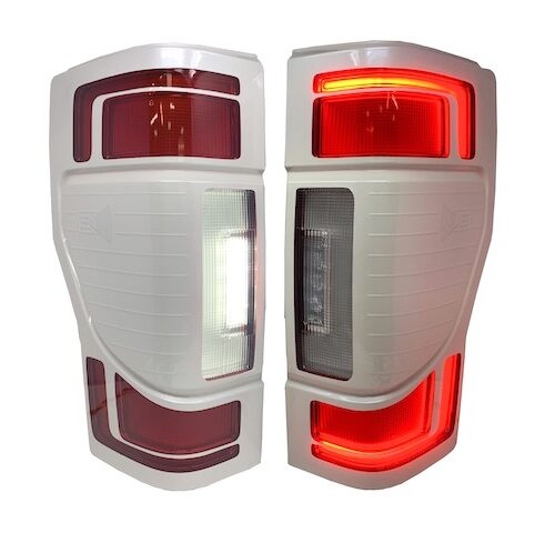 2020+ Ford F250 Superduty Custom Painted LED Tail Lights