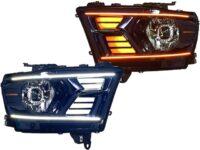 2019 RAM 5th Gen Switchback LED Projector Headlights