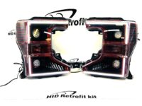 2020+ Ford F250 Superduty TREMOR Custom Retrofit LED Biled Headlights