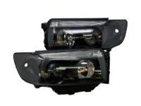 2006-2008 Subaru Forester Bixenon HID Retrofit Kit Custom Black Projector Headlights