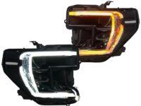 2019-2020 GMC Sierra 1500 Switchback LED Retrofit Black Headlights