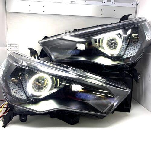 2014-2021 Toyota 4Runner OFF Road LED Headlights Projector Retrofit Halo Lights