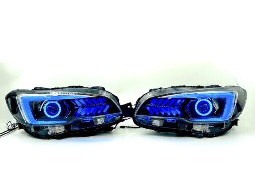 2018-2021 Subaru WRX STI Limited Gill RGBW Led Headlights