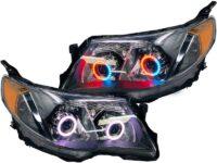 2009-2013 Subaru Forester RGBW Led Halo Projector Headlights