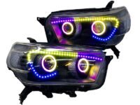 2010-13 Toyota 4Runner SR5 RGB Angry LED Headlights