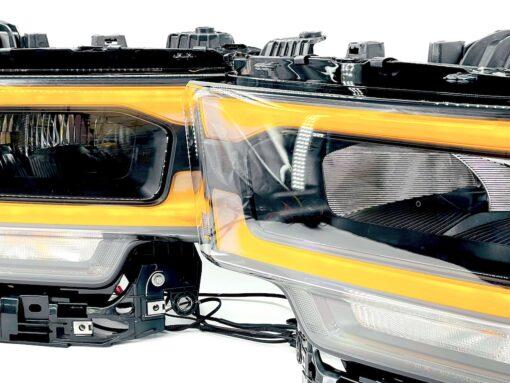 2020+ RAM 2500 Laramie LED Custom Retrofit Black Headlights