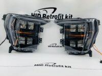 2021+ Ford F-150 Custom Painted Headlights