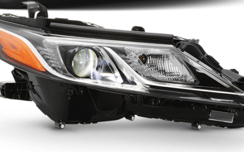 2020 Toyota Camry SE Custom Retrofit Headlights for Jay 1_JXM