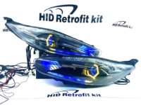 2014-2017 Ford Fiesta Retrofit Gill Headlight Halo Lights