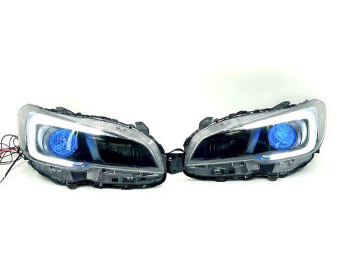 2015-2021 Subaru WRX RGB Led Demon Eye Headlights